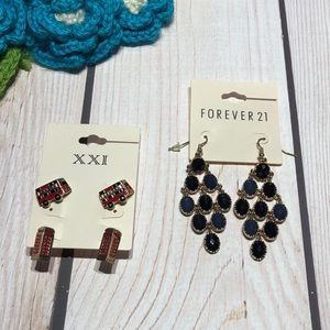 Forever 21 women's earrings bundle